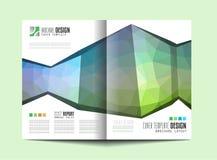 Πρότυπο φυλλάδιων, σχέδιο ιπτάμενων ή κάλυψη Depliant για την επιχείρηση Στοκ εικόνες με δικαίωμα ελεύθερης χρήσης