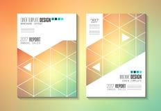 Πρότυπο φυλλάδιων, σχέδιο ιπτάμενων ή κάλυψη Depliant για την επιχείρηση Στοκ Εικόνες