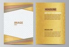 πρότυπο φυλλάδιων Στοκ Εικόνα