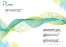 Πρότυπο φυλλάδιων Στοκ εικόνα με δικαίωμα ελεύθερης χρήσης