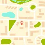 Πρότυπο χαρτών απεικόνιση αποθεμάτων
