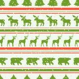 πρότυπο Χριστουγέννων άνε&ups διάνυσμα Στοκ φωτογραφία με δικαίωμα ελεύθερης χρήσης