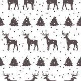πρότυπο Χριστουγέννων άνε&ups διάνυσμα Στοκ Φωτογραφία