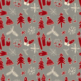 πρότυπο Χριστουγέννων άνε&ups επίσης corel σύρετε το διάνυσμα απεικόνισης Στοκ Φωτογραφία
