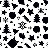 πρότυπο Χριστουγέννων άνε&ups Στοκ Εικόνα