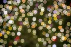 Πρότυπο Χριστουγέννων με τα ζωηρόχρωμα φω'τα στοκ εικόνα με δικαίωμα ελεύθερης χρήσης