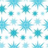 Πρότυπο Χριστουγέννων με Snowflakes Στοκ εικόνες με δικαίωμα ελεύθερης χρήσης