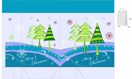 πρότυπο Χριστουγέννων τσ&alpha απεικόνιση αποθεμάτων