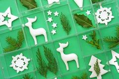 πρότυπο Χριστουγέννων Στοκ φωτογραφία με δικαίωμα ελεύθερης χρήσης