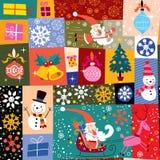 Πρότυπο Χριστουγέννων Στοκ εικόνα με δικαίωμα ελεύθερης χρήσης