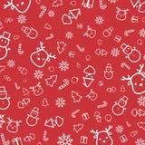 Πρότυπο Χριστουγέννων Στοκ Φωτογραφίες