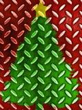 Πρότυπο χριστουγεννιάτικων δέντρων Στοκ Φωτογραφία