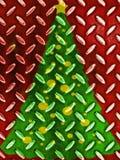 Πρότυπο χριστουγεννιάτικων δέντρων Στοκ Εικόνα