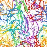 πρότυπο χρωμάτων σταλαγμα& Στοκ φωτογραφία με δικαίωμα ελεύθερης χρήσης