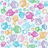 πρότυπο ψαριών Στοκ Φωτογραφίες