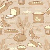 πρότυπο ψωμιού άνευ ραφής ελεύθερη απεικόνιση δικαιώματος