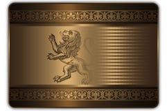 Πρότυπο δώρων ή πιστωτικών καρτών Στοκ εικόνα με δικαίωμα ελεύθερης χρήσης