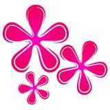πρότυπο 2 floral λουλουδιών αν& ελεύθερη απεικόνιση δικαιώματος