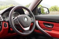 Πρότυπο Coupe 2013 4-σειρών της BMW Στοκ Εικόνες