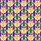 πρότυπο de fleur lis άνευ ραφής ελεύθερη απεικόνιση δικαιώματος