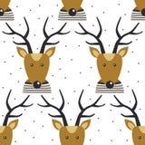 πρότυπο deers άνευ ραφής ελεύθερη απεικόνιση δικαιώματος