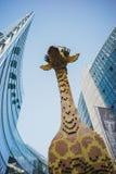 Πρότυπο giraffe Στοκ Εικόνες