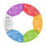 Πρότυπο Infographic με την επιλογή ή βήμα για την επιχειρησιακή παρουσίαση στοκ φωτογραφία