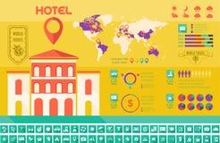 Πρότυπο Infographic ταξιδιού. Στοκ φωτογραφία με δικαίωμα ελεύθερης χρήσης