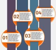 Πρότυπο Infographic Στοκ Εικόνες