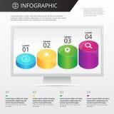 Πρότυπο Infographics Στοκ εικόνες με δικαίωμα ελεύθερης χρήσης