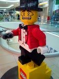 Πρότυπο Lego Στοκ φωτογραφίες με δικαίωμα ελεύθερης χρήσης