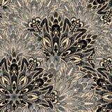 πρότυπο mandala άνευ ραφής Στοκ Φωτογραφία