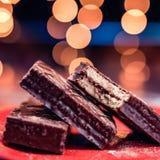 Πρόχειρα φαγητά σοκολάτας Balconi στοκ φωτογραφία με δικαίωμα ελεύθερης χρήσης