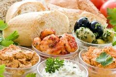 πρόχειρα φαγητά συμβαλλόμενων μερών Στοκ φωτογραφίες με δικαίωμα ελεύθερης χρήσης