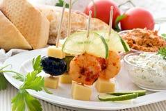 πρόχειρα φαγητά συμβαλλόμ&e Στοκ εικόνα με δικαίωμα ελεύθερης χρήσης