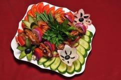 πρόχειρο φαγητό κρέατος Στοκ Φωτογραφία