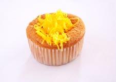 Πρόχειρο φαγητό σιφόν cupcake Στοκ εικόνα με δικαίωμα ελεύθερης χρήσης