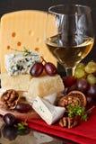 πρόχειρο φαγητό στο κρασί στοκ εικόνες
