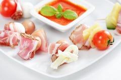 πρόχειρο φαγητό συμβαλλόμ Στοκ εικόνα με δικαίωμα ελεύθερης χρήσης