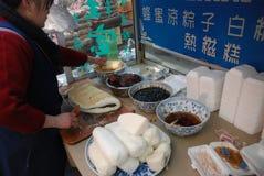 Πρόχειρο φαγητό της Κίνας Στοκ Φωτογραφίες