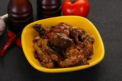 Πρόχειρο φαγητό Eggpant - ιμάμης bayaldy στοκ φωτογραφία με δικαίωμα ελεύθερης χρήσης