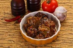 Πρόχειρο φαγητό Eggpant - ιμάμης bayaldy στοκ φωτογραφία