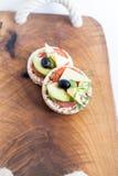 Πρόχειρο φαγητό Wholemeal ψωμιού Στοκ Εικόνα