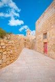Πρόχωμα Βικτώριας, IR-Rabat Gozo, Μάλτα στοκ φωτογραφίες