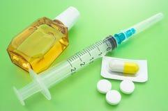 Πρόληψη του πυρετού σανού. Στοκ φωτογραφία με δικαίωμα ελεύθερης χρήσης