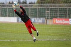 Πρώην Ισραήλ Dudu τερματοφύλακας εθνικής ομάδας Aouate Στοκ φωτογραφία με δικαίωμα ελεύθερης χρήσης