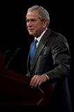 Πρώην πρόεδρος Τζορτζ Μπους Στοκ Φωτογραφία