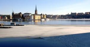 πρώιμη άνοιξη Στοκχόλμη Στοκ Φωτογραφία