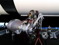 πρώιμος πύραυλος μηχανών Στοκ Εικόνα