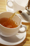 πρώιμο τσάι Στοκ φωτογραφία με δικαίωμα ελεύθερης χρήσης